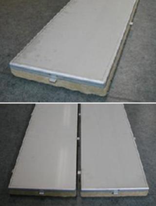 舶用不燃性防音甲板床パネル