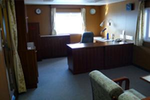 船長執務室