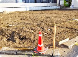 3建築場所の敷地、近隣調査